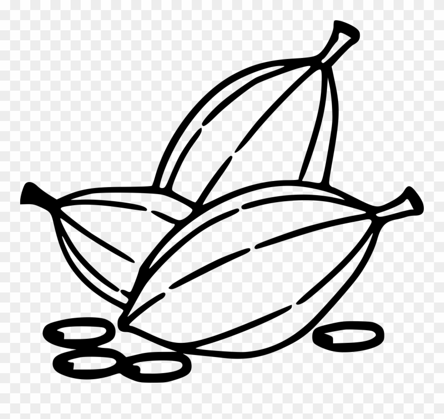 Clip Art Royalty Free Clipart Cocoa Beans Big.