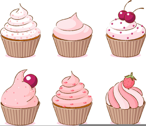 Free Cupcake Clipart Black And White.