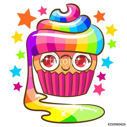 cupcake clipart cartoon\