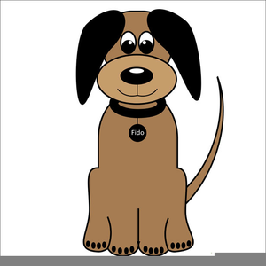 Free Dog Clipart Cartoon.