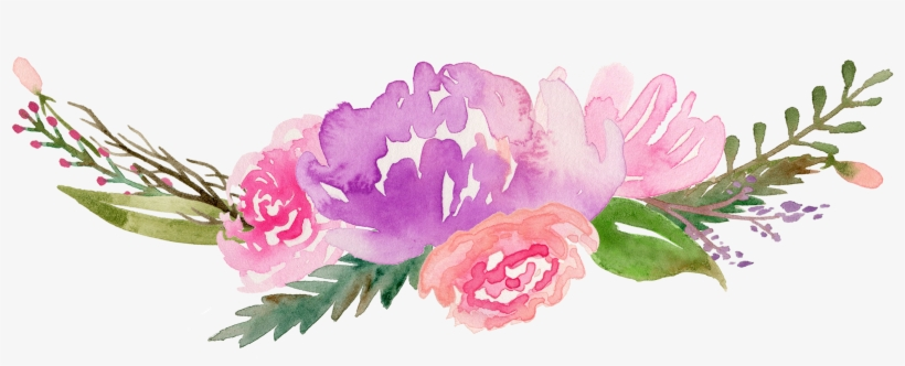 Royalty Free Flowers Watercolor Painting Clip Art Along.