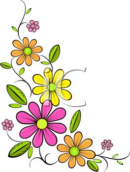 Royalty Free Daisy Clip art, Flower Clipart.