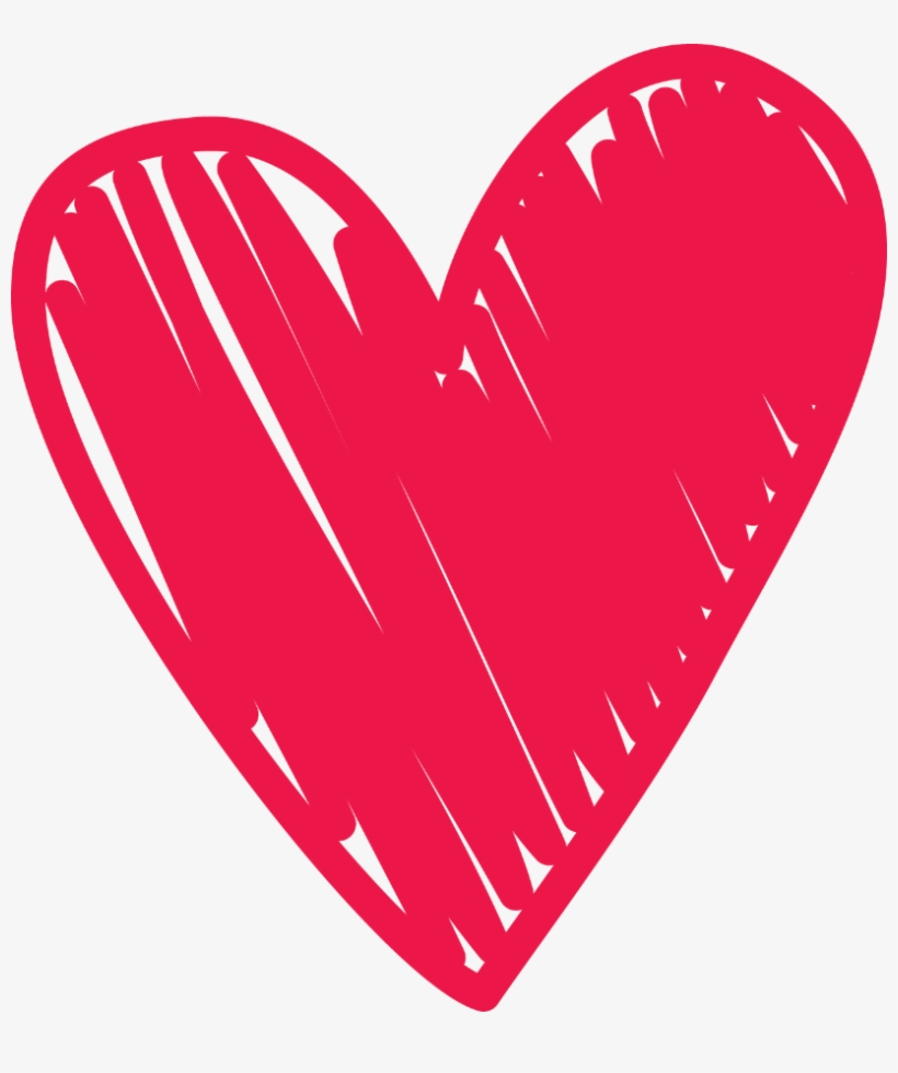 Royalty Free Stock Doodle Clipart Love Heart.