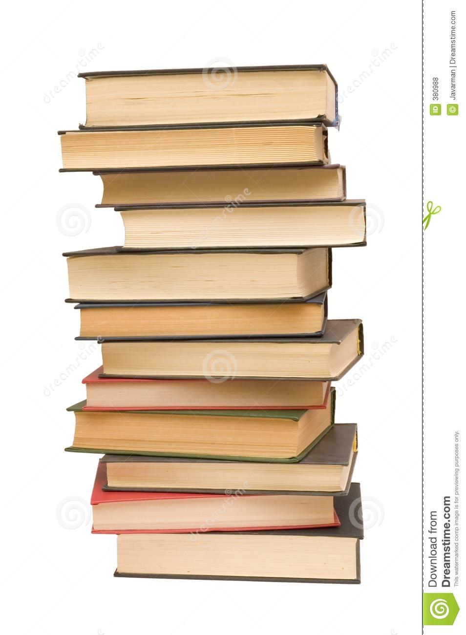 Pile Of Books Royalty Free Stock Photos.