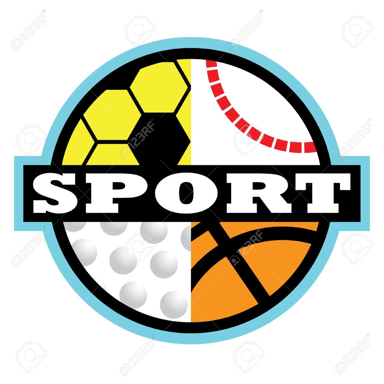 Sports Logo Clipart.