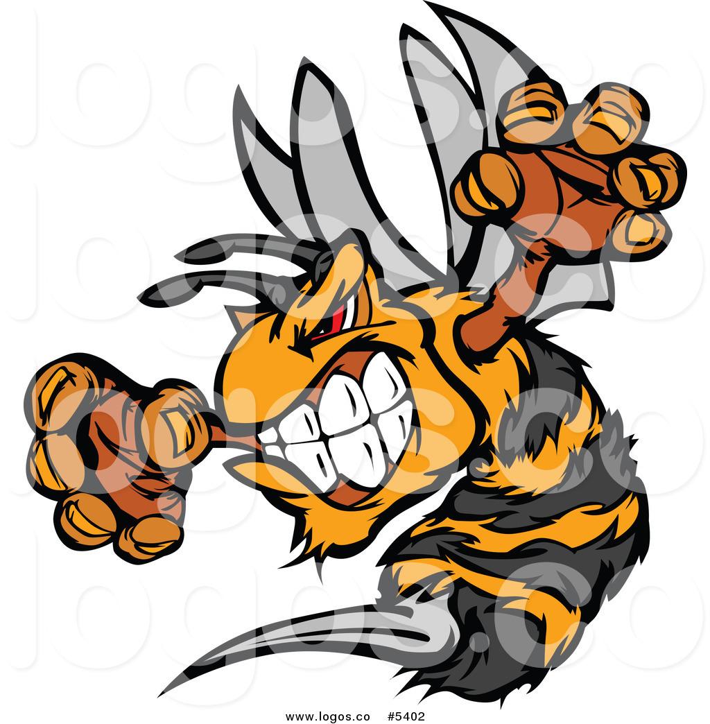 Hornet Clipart Mascots.