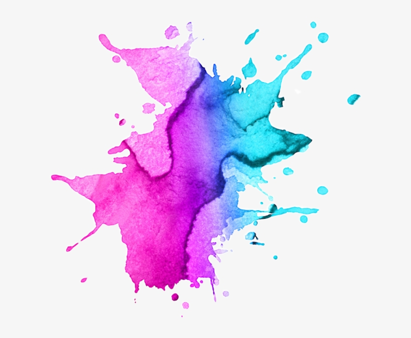 Watercolor Paint Splatter Png Image Royalty Free Stock.