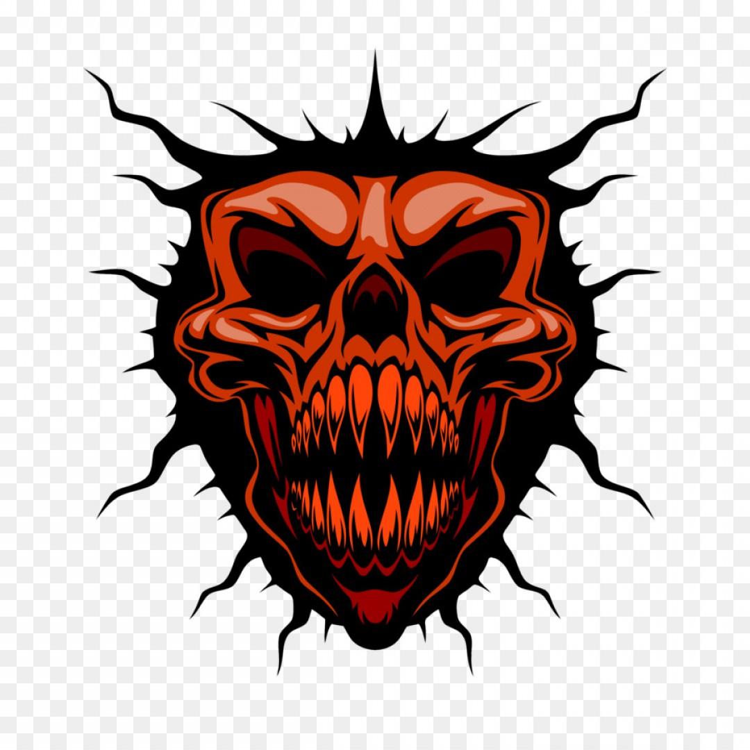 Png Skull Royalty Free Illustration Horr #286477.