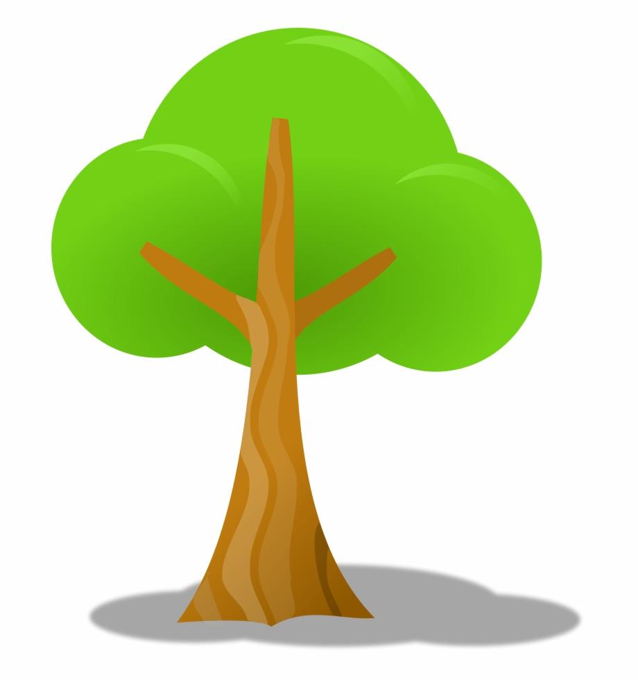Simple Tree Clipart, Vector Clip Art Online, Royalty.