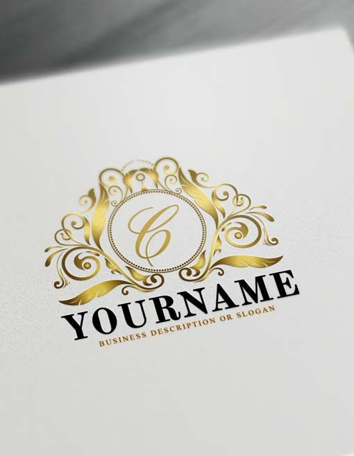 Free Royalty Logo Creator Letters Logo Maker.