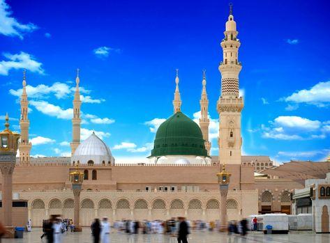 Masjid e Nabvi SalALLAHo Alyhe Wasallam; Madinah Munawara.