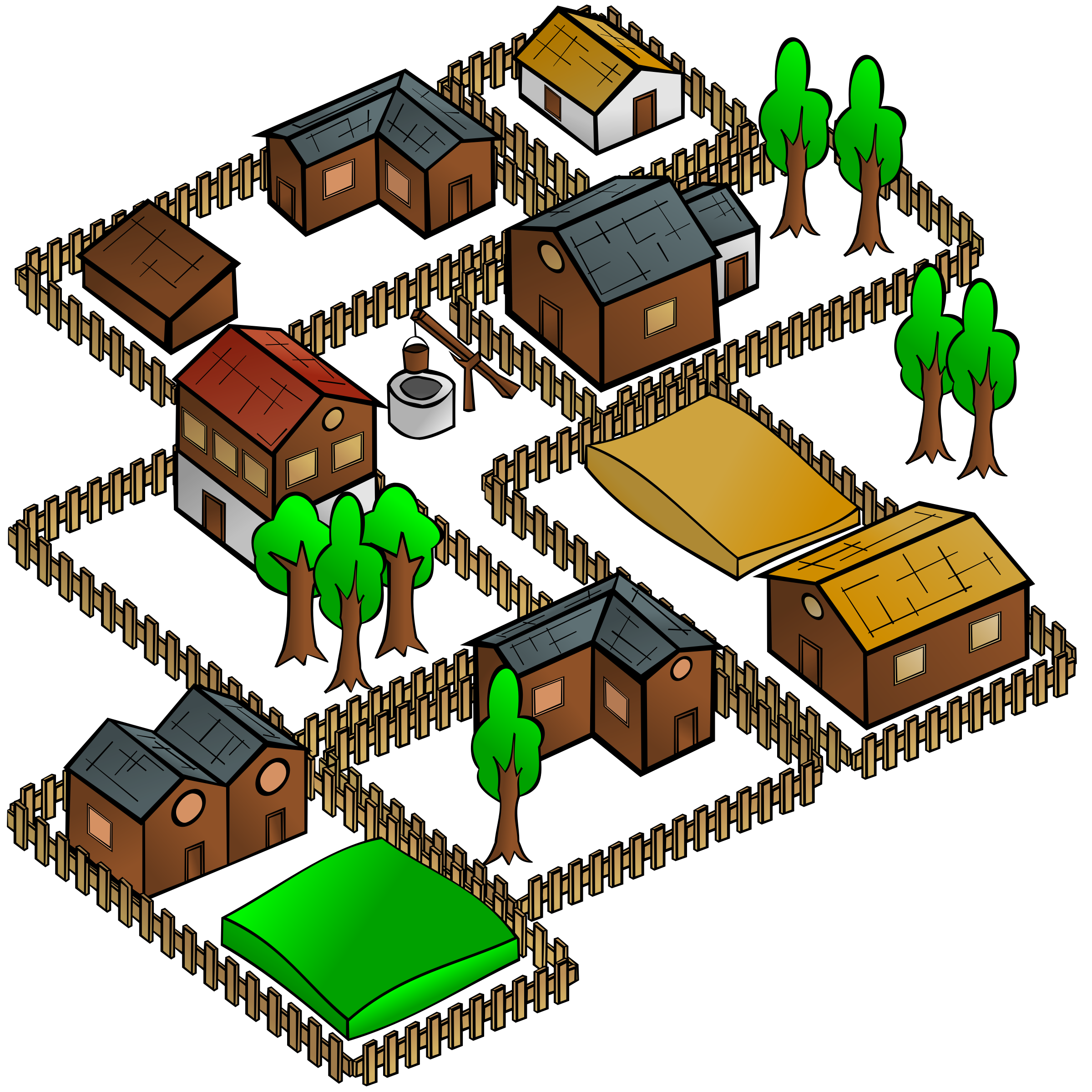 Rpg Map Clipart.