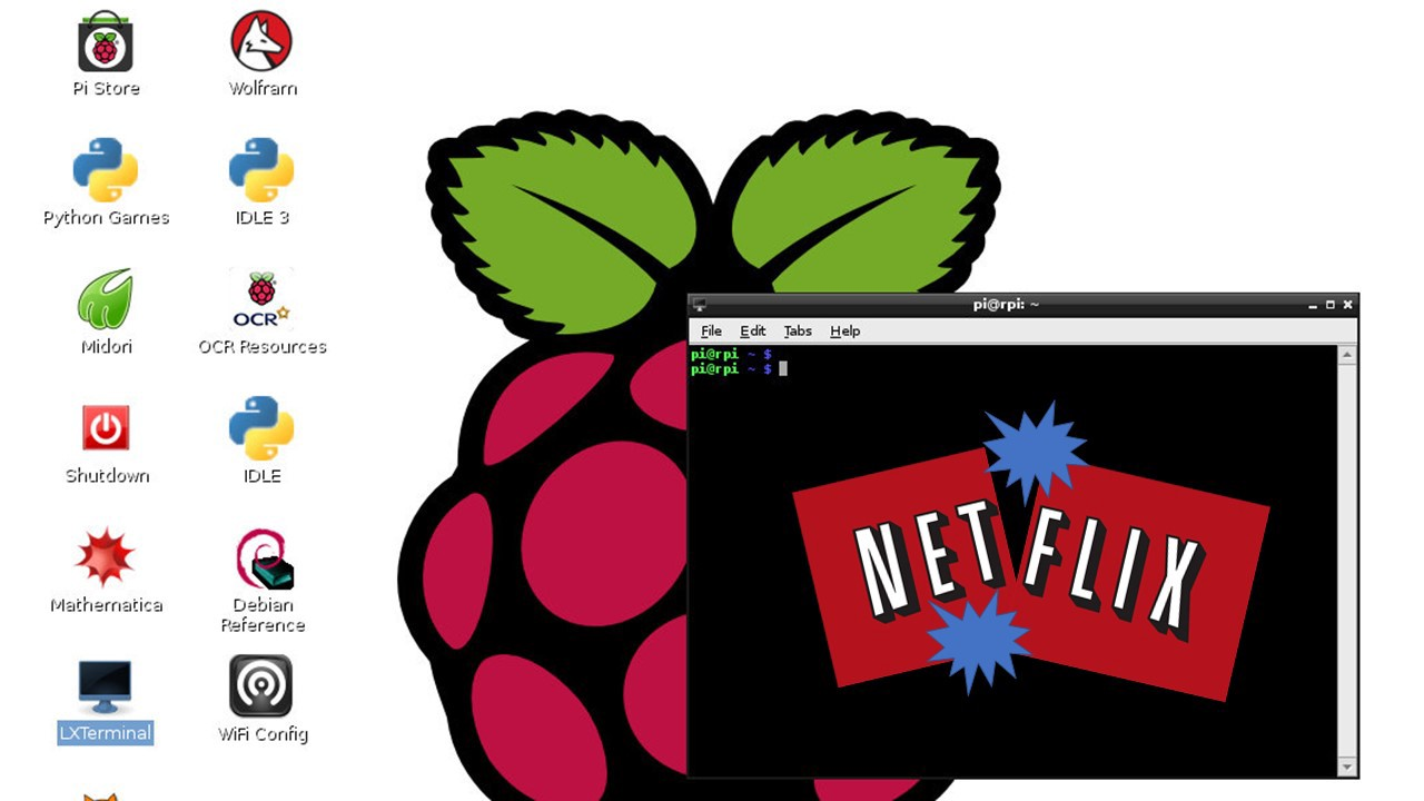 Download Raspberry Pi Image.
