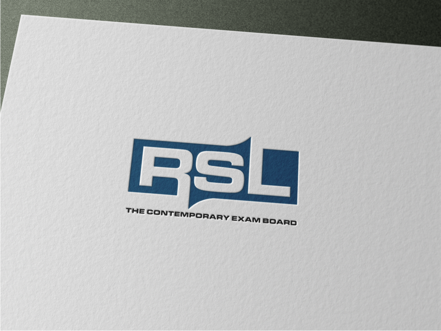 Create a powerful and inspiring logo for RSL, an innovative.