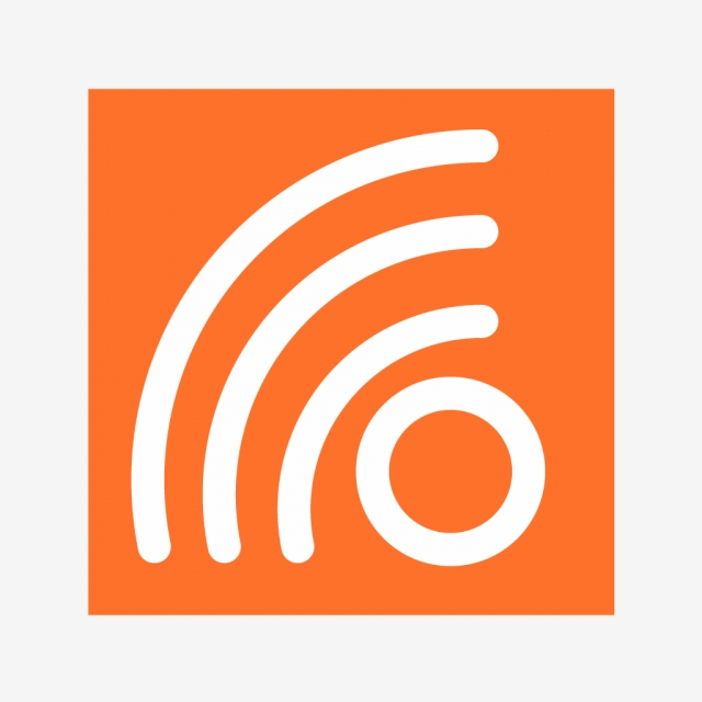 Vector Rss Feed Icon, Aap Icon, Blog Icon, Communicatio.