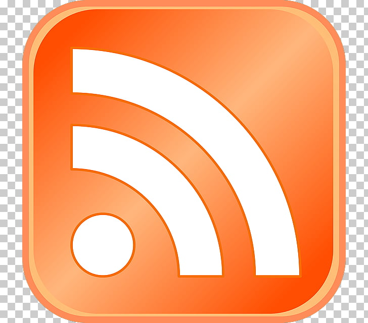 RSS Web feed Computer Icons News aggregator , Feed, Orange.