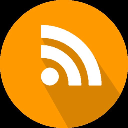 Feed, logo, rss, social network icon.