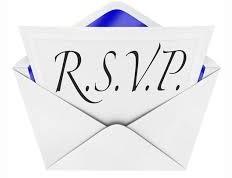 Free RSVP Clipart.