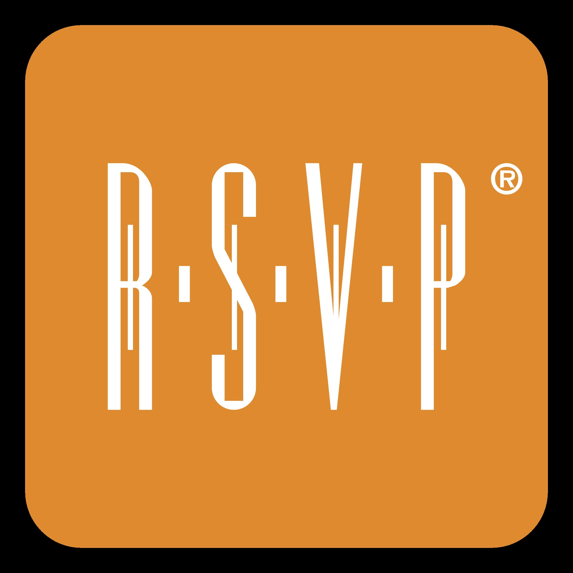 RSVP Logo PNG Transparent & SVG Vector.