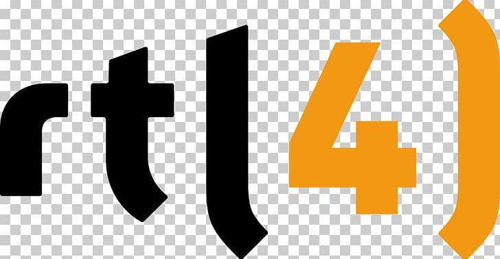 Logo RTL 4 Television Channel PNG, Clipart, Angle, Brand.