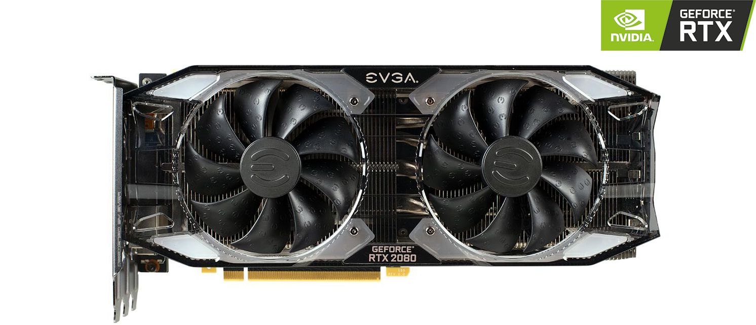 EVGA NVIDIA GeForce RTX 2080 8GB XC ULTRA GAMING Turing Graphics Card.