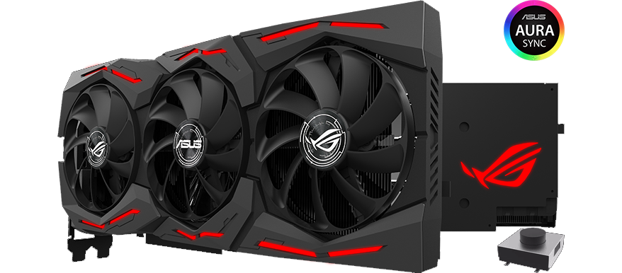 ASUS NVIDIA GeForce RTX 2080 Ti 11GB ROG STRIX ADVANCED Turing Graphics Card.