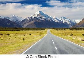 Stock Photography of Mount Ruapehu, New Zealand.