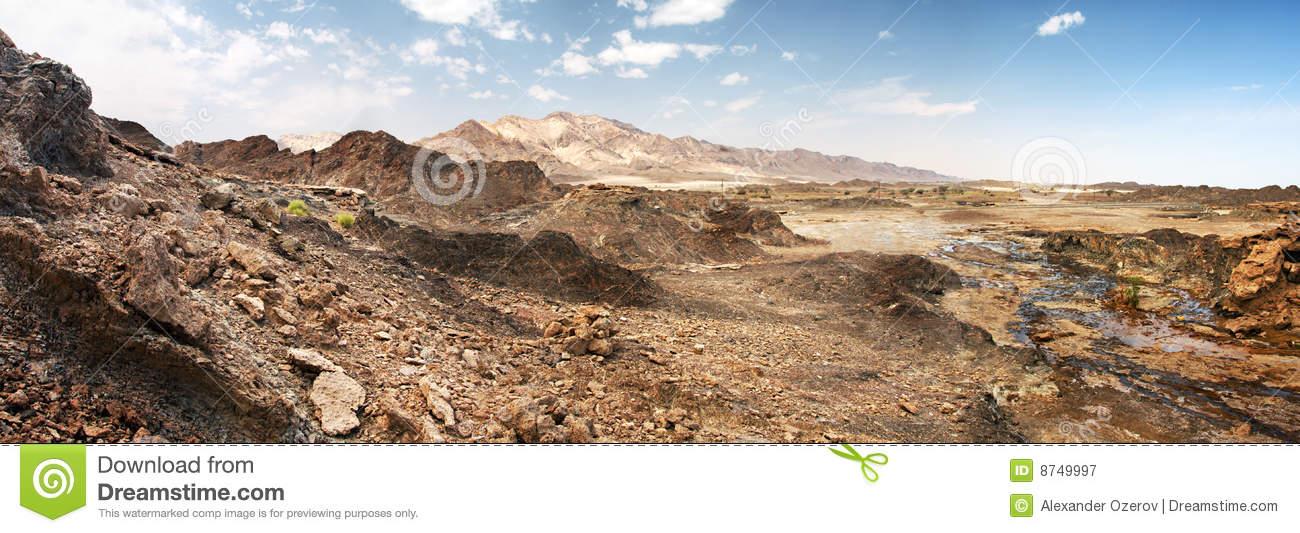 Rocks Of Rub' Al Khali Desert, UAE Royalty Free Stock Photography.