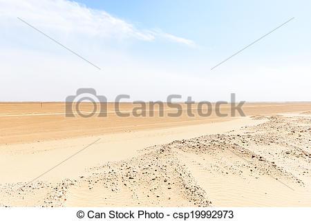 Picture of Route 43 to Ubar, Rub al.