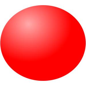 Red Ball clip art.