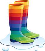 256 Rain Boots free clipart.