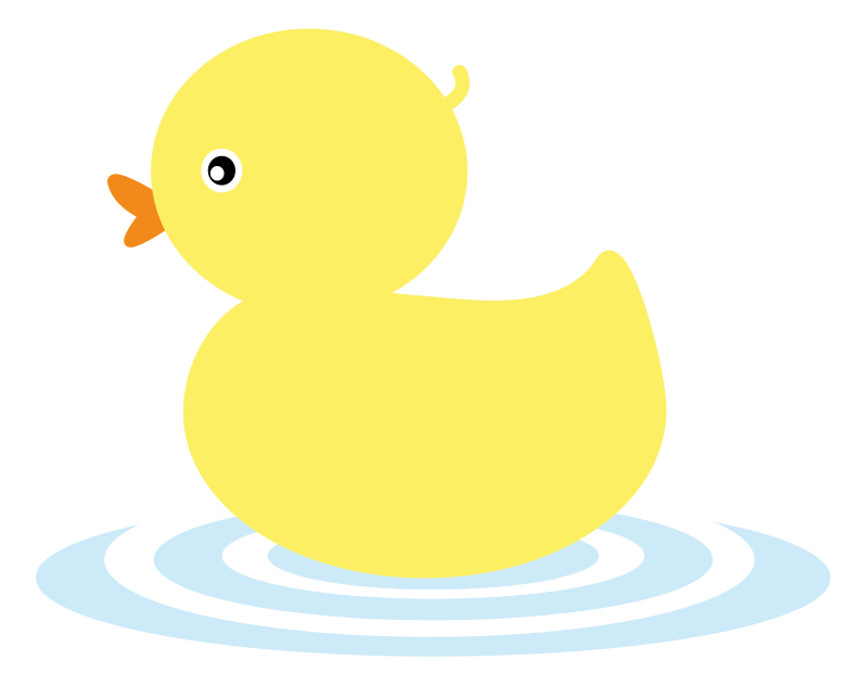 40+ Rubber Ducky Clipart.
