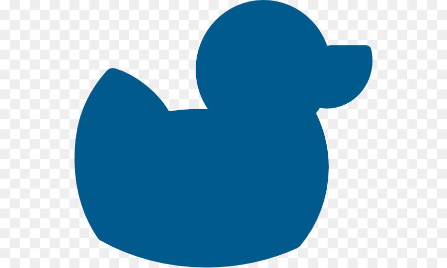 Rubber duck Silhouette Clip art.
