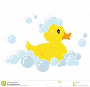 Rubber Ducky Free Clipart.