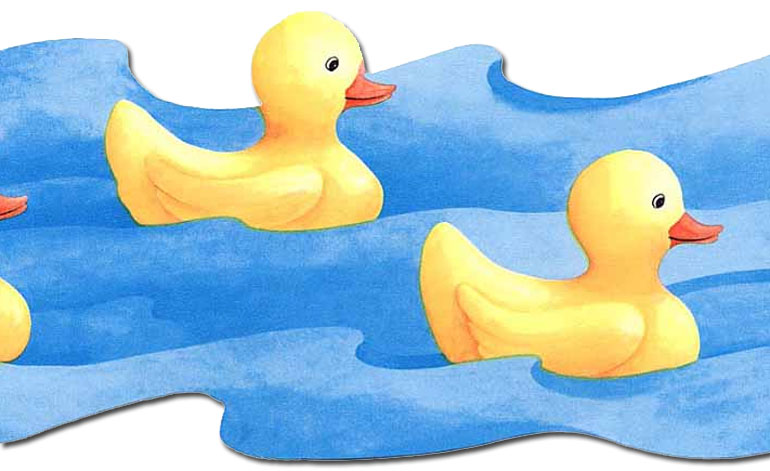 49+] Rubber Duck Wallpaper Border on WallpaperSafari.