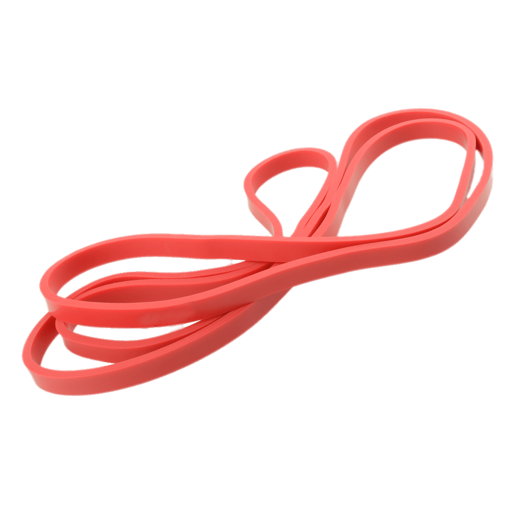 Red Rubber Bands transparent PNG.