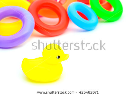Rubber Ring Duck Stock Photos, Royalty.