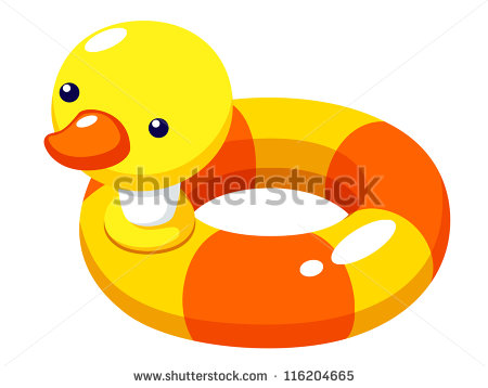 Swimming Tube Clipart.