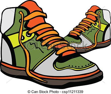 Rubber shoes clipart.