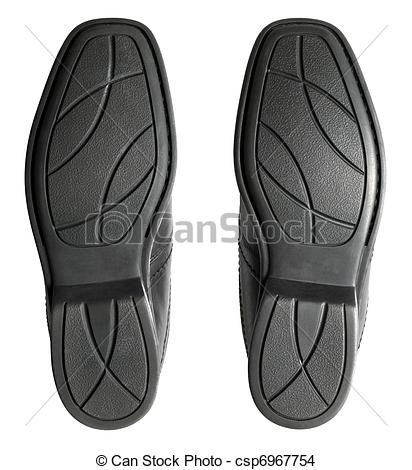 Stock Photo of close up of men's shoe rubber sole csp6967754.