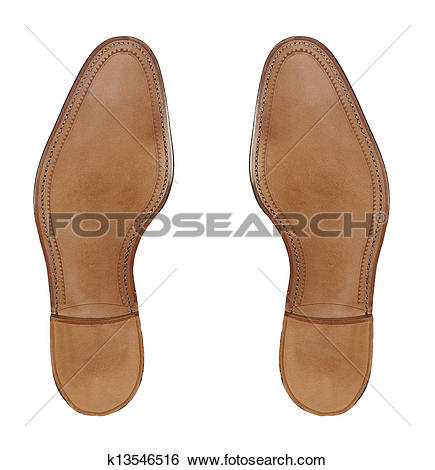 Stock Images of Rubber sole of a men's shoes k13546516.