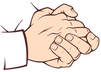 Gestures.