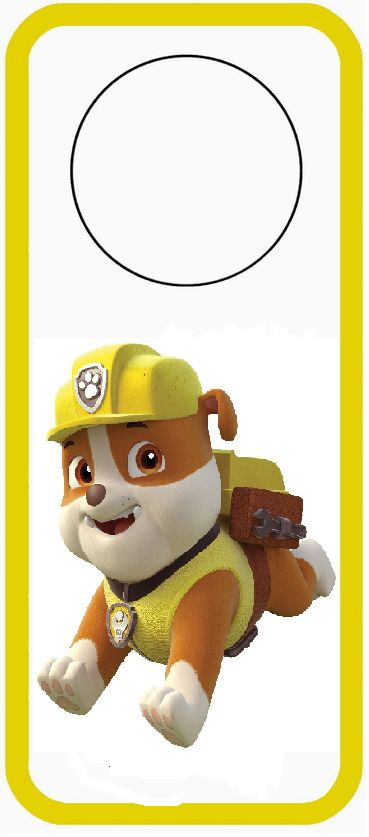 10 Best ideas about Rubble Paw Patrol on Pinterest.
