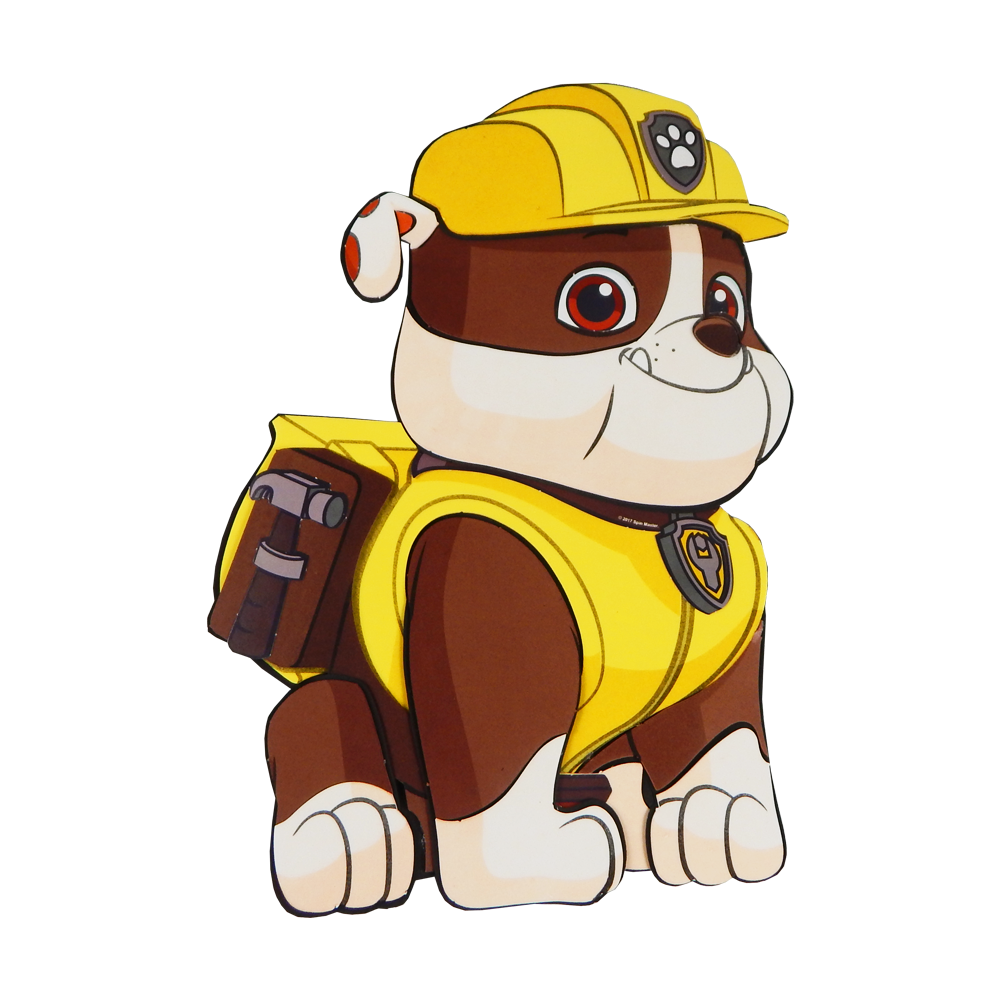 Patrulha canina rubble png 5 » PNG Image.