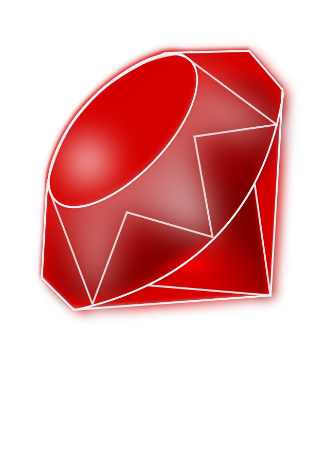 Red Ruby Clipart, vector clip art online, royalty free design.