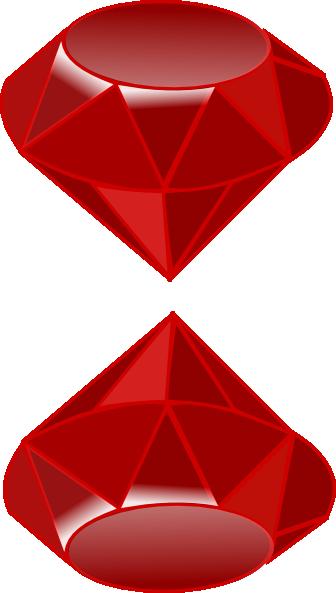 Gemstone Ruby Clip Art at Clker.com.