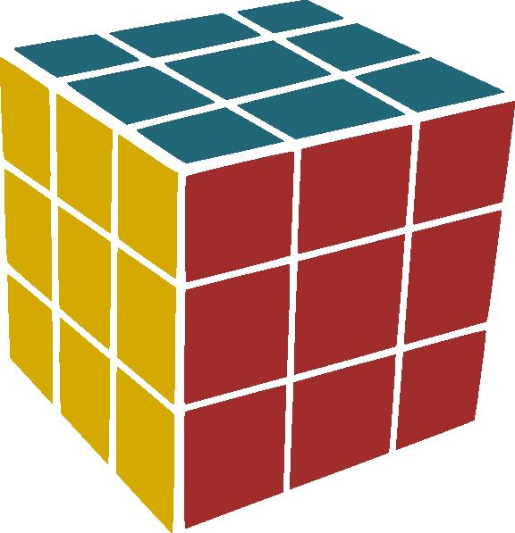 Rubik Clip Art at Clker.com.