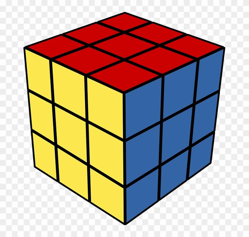 Rubik\'s Cube Png.