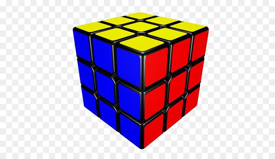 Rubiks Cube Blue png download.