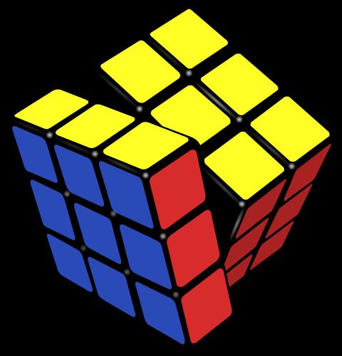 Rubik\'s Cube PNG Transparent Images.